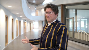 video thumbnail, NL, Netherlands, Onze Lieve Vrouw Ascension Institute, Waregem, acoustics, school, education